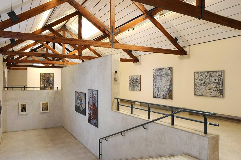 paintings exhibited at the Museu Vieira da Silva