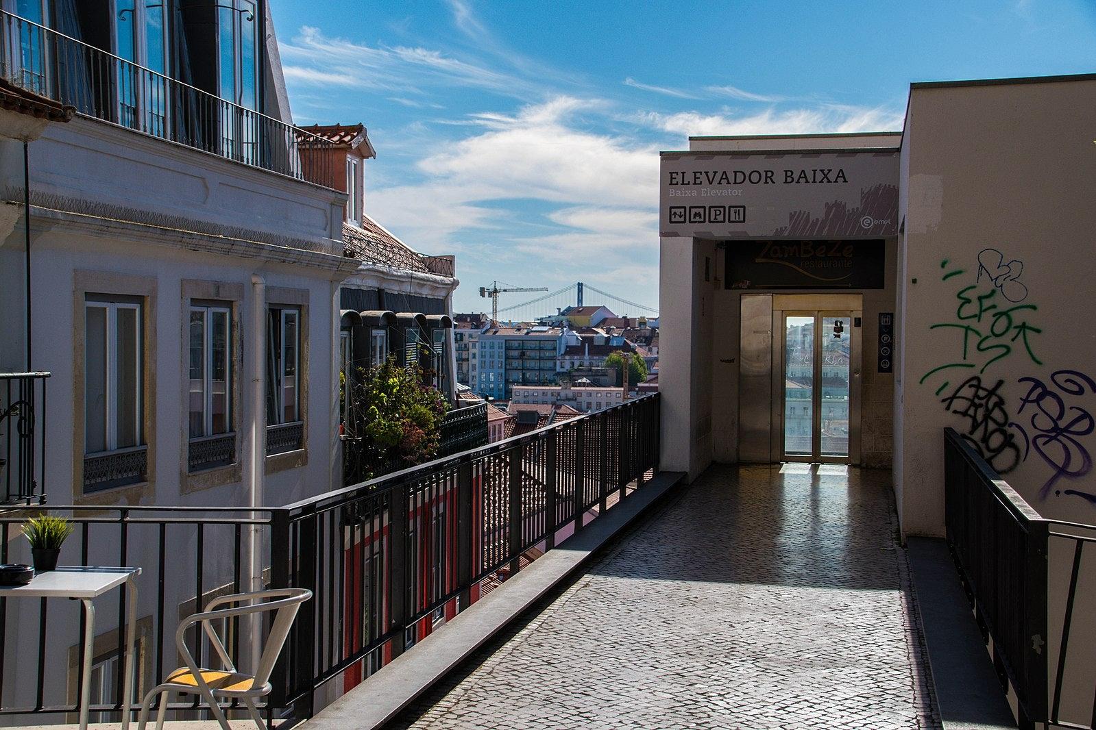 Lisbon - Chao do Loureiro lift