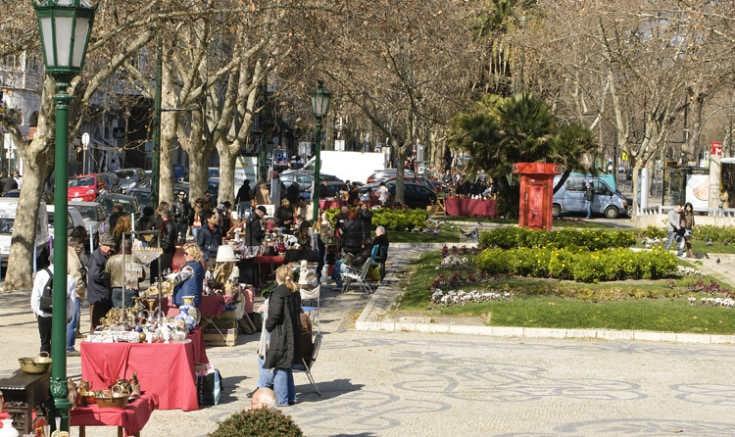 vintage market Feira Avenida da Liberdade