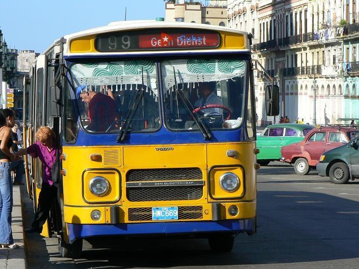 Guagua in Havana