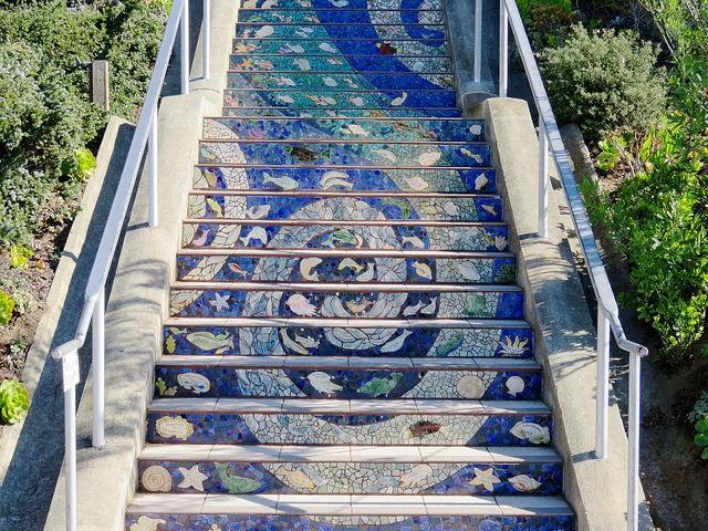 San Francisco - 16th avenue tiled steps