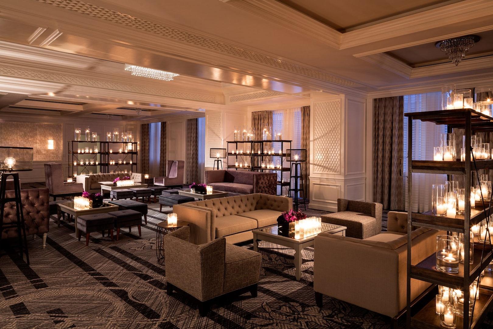 interior of the Ritz Carlton in San Francisco