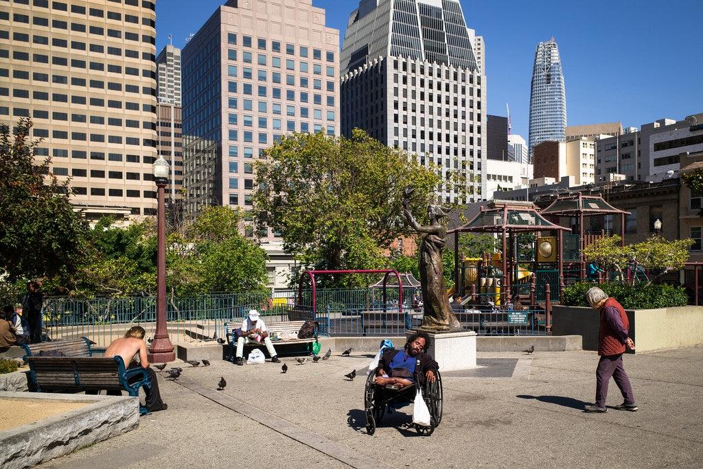 San Francisco - Portsmouth Square