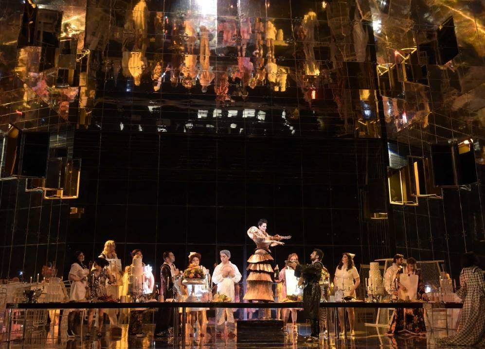 a play at the Deutsche Oper Berlin
