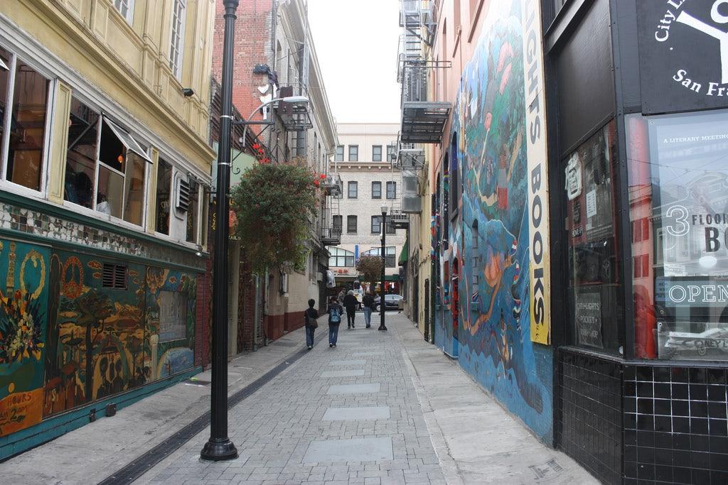 San Francisco - Jack Kerouac Alley