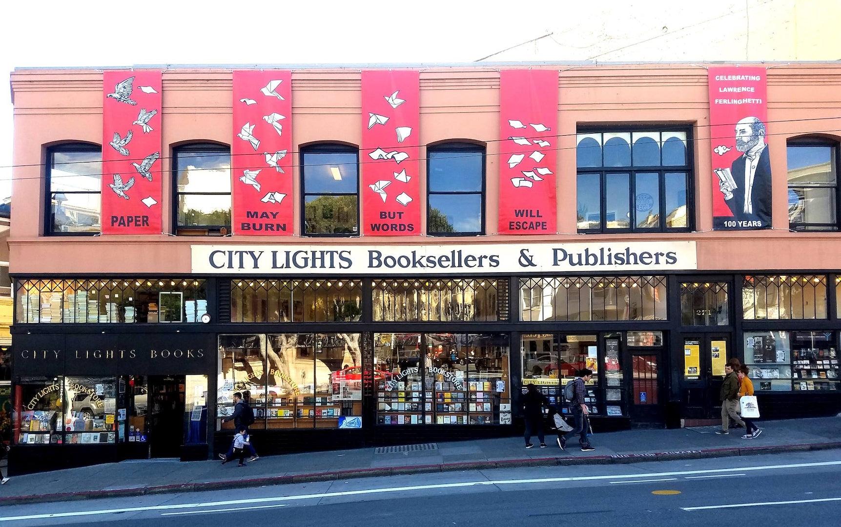 San Francisco - City Lights Bookstore