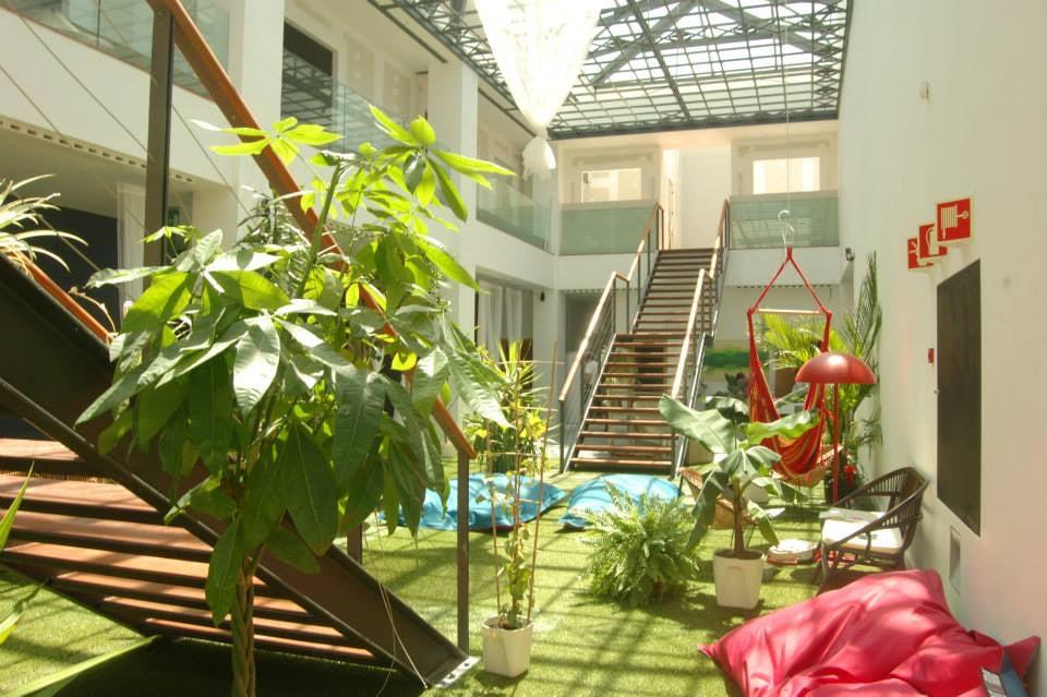 lounge area the Destination Hostel