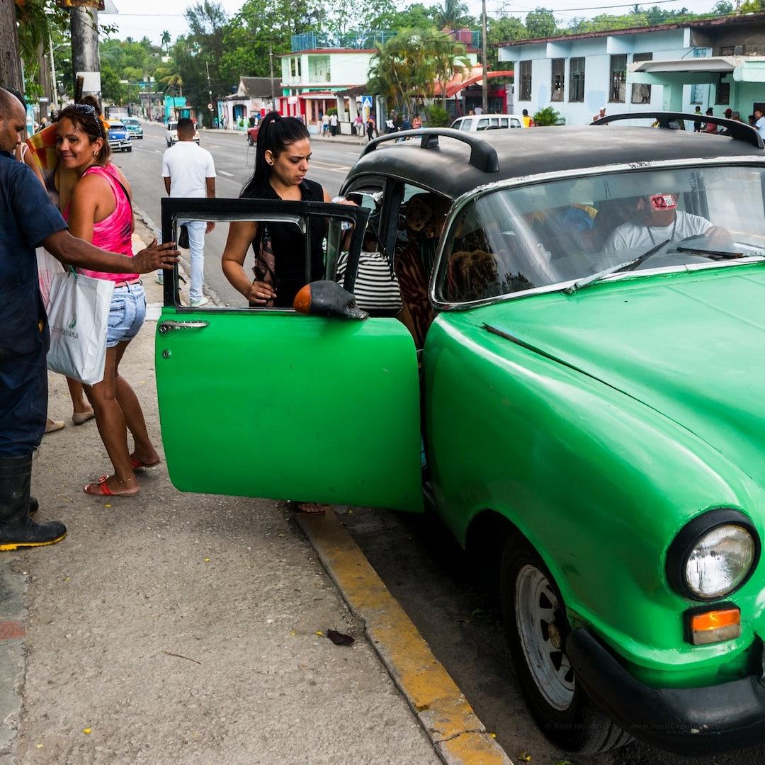 El almendrón cuban style car