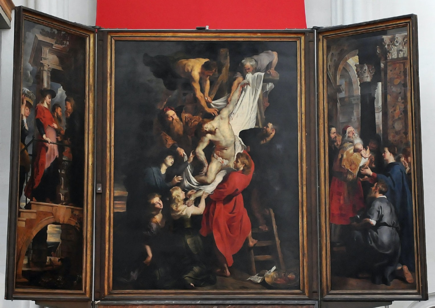 chatedral rubens painting