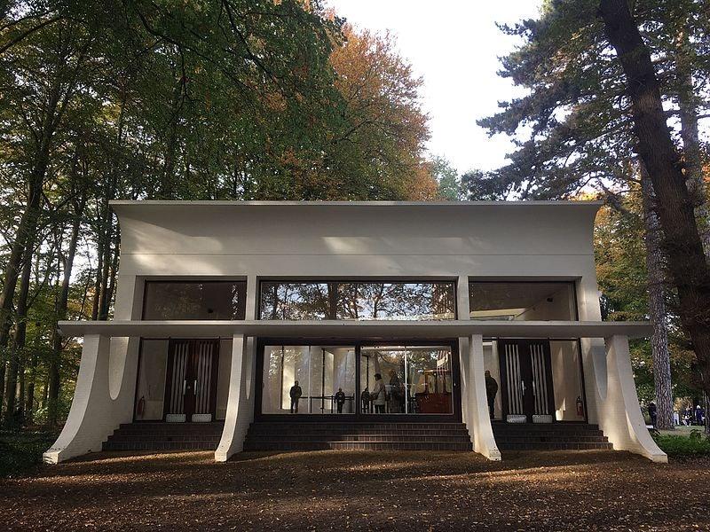 exterior Braem Pavilion building