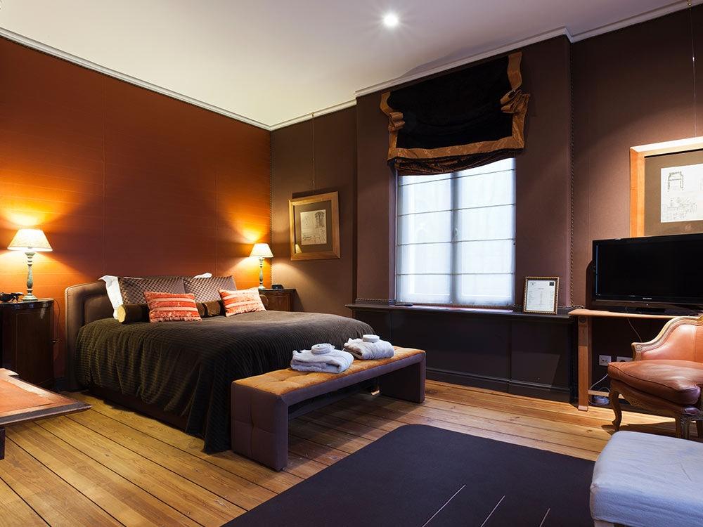 hotel room Le Tissu