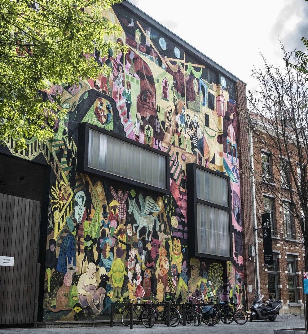 mural art in Sint-Andries neighbourhood