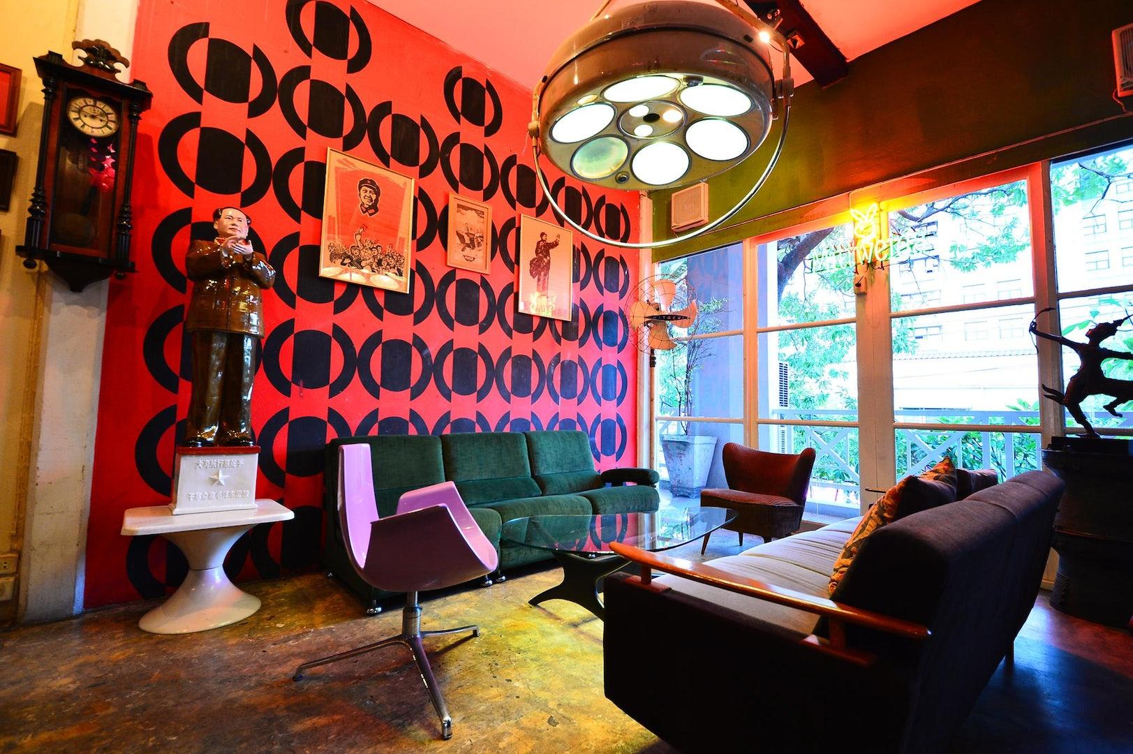 interior of Tuba bar