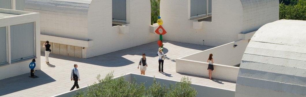 roof Fundació Joan Miró