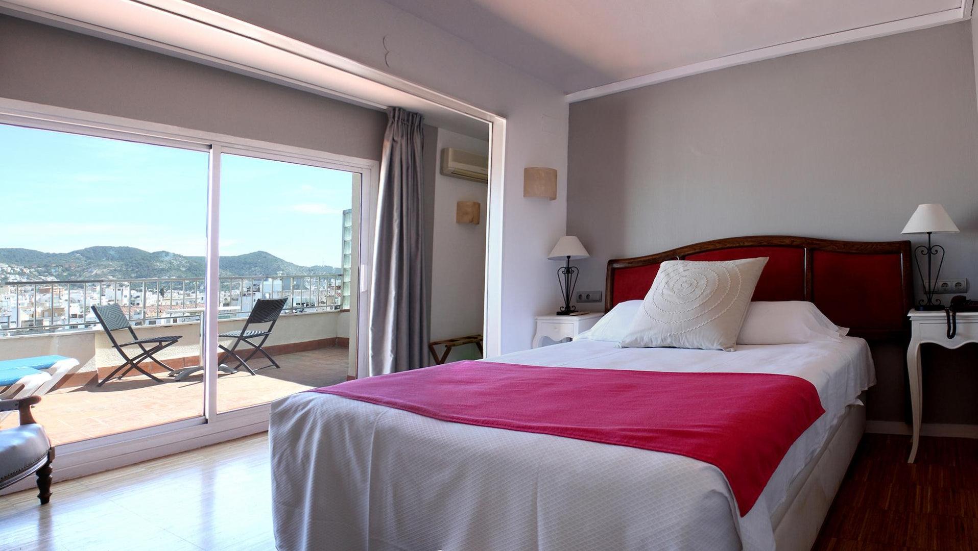 Hotel Subur room view