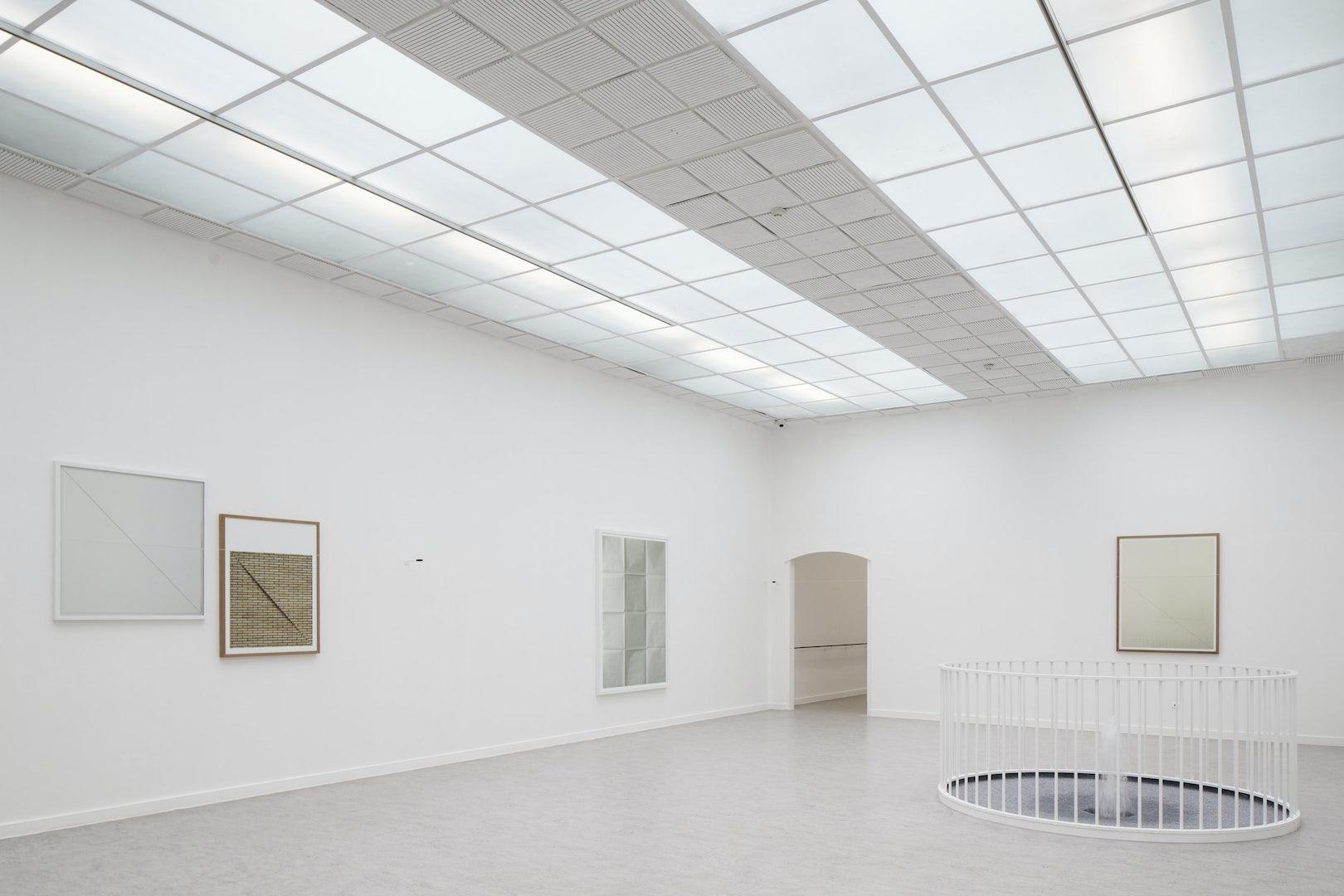 exhibition room of Z33