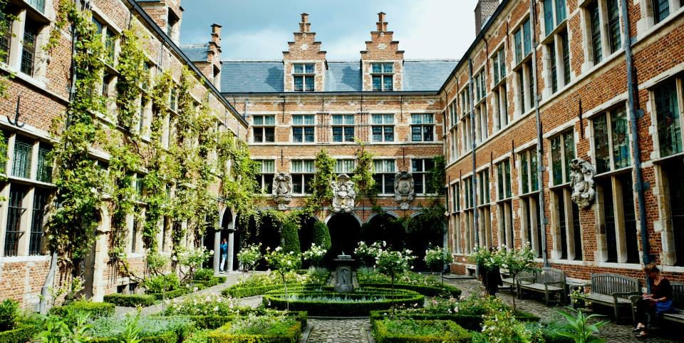 Plantin Moretus Garden