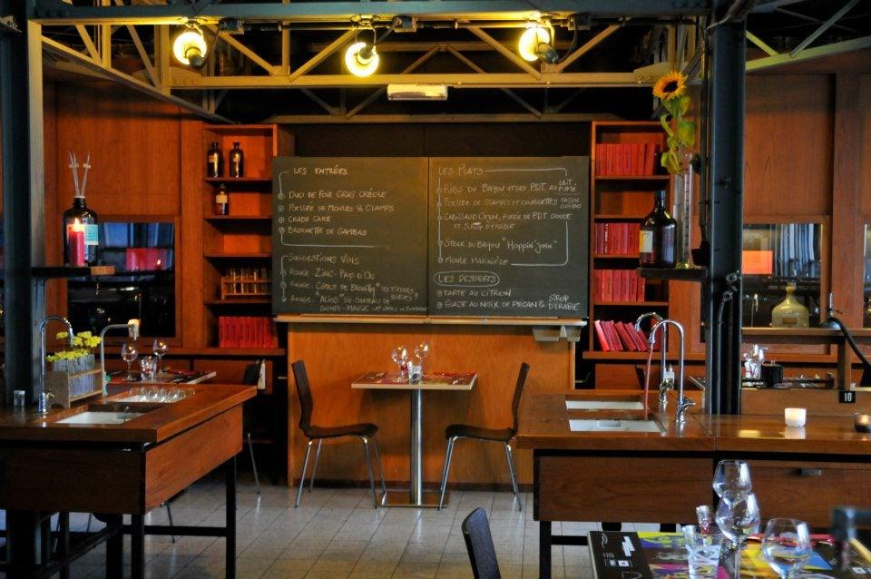 restaurant interior of Le Labo 4