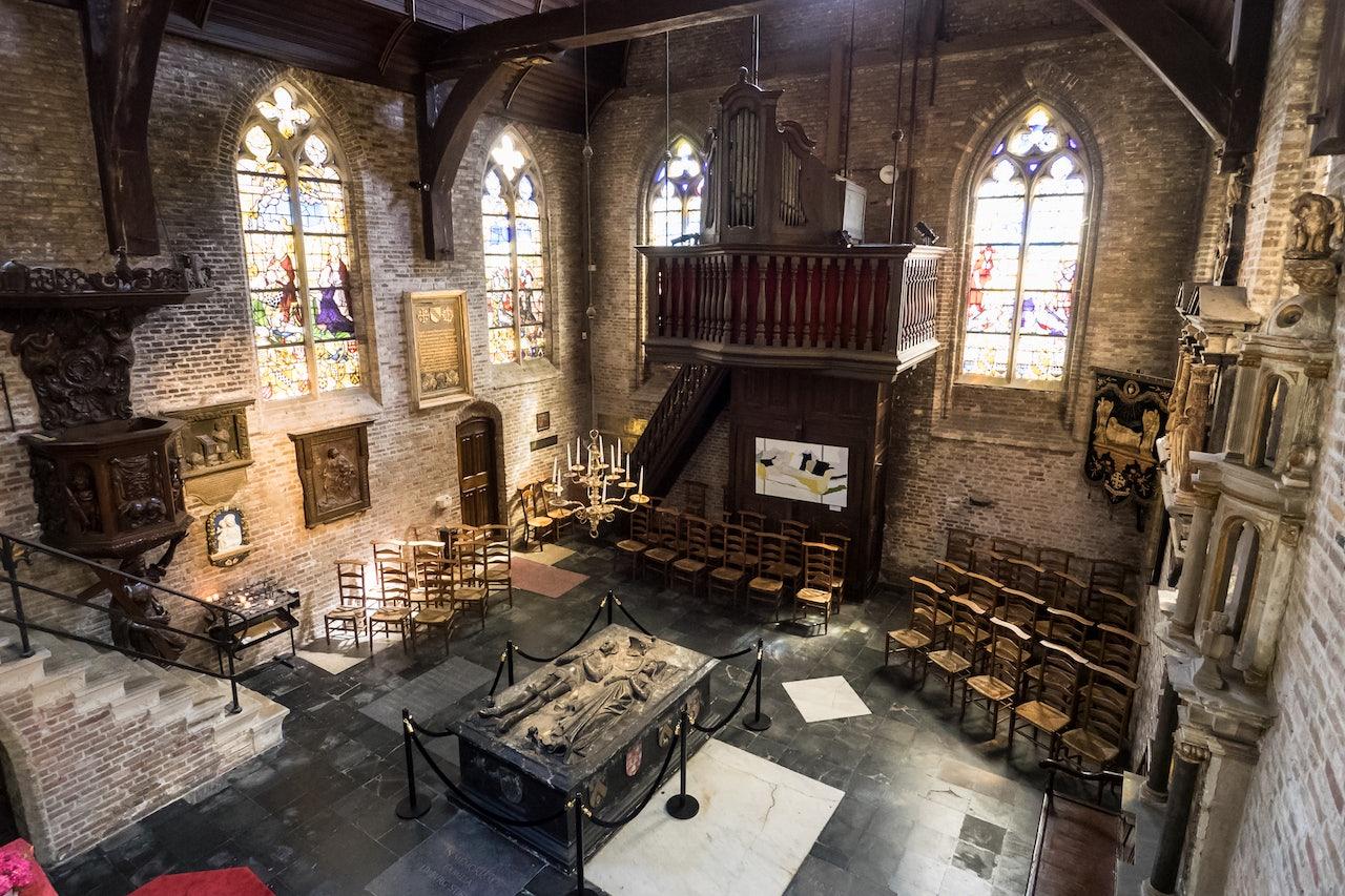 interior Jeruzalemkerk