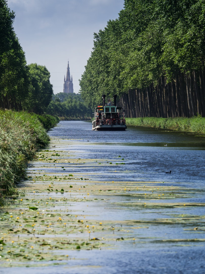 Bruges to Damme Canal