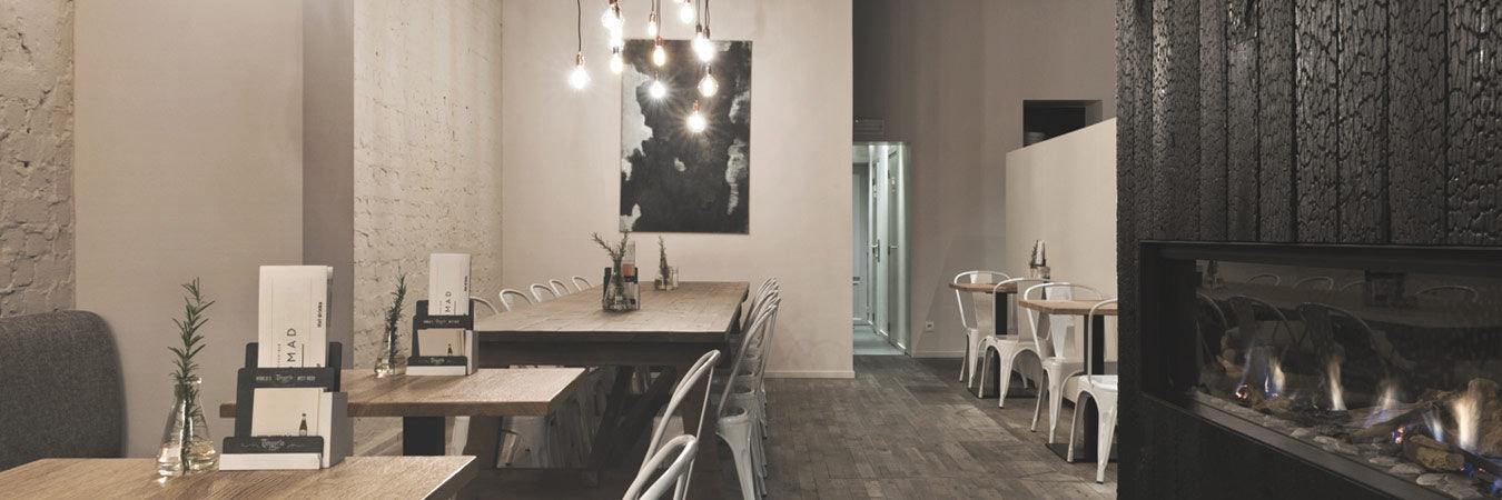 restaurant interior of NOMAD