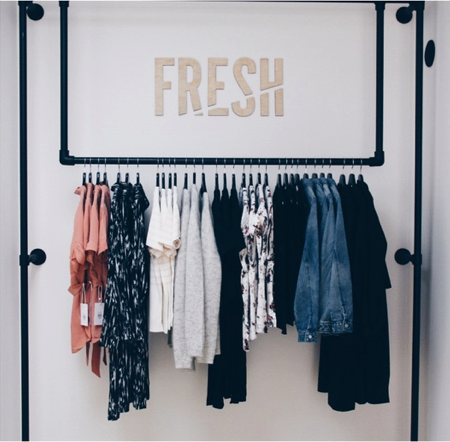 Fresh fashion store