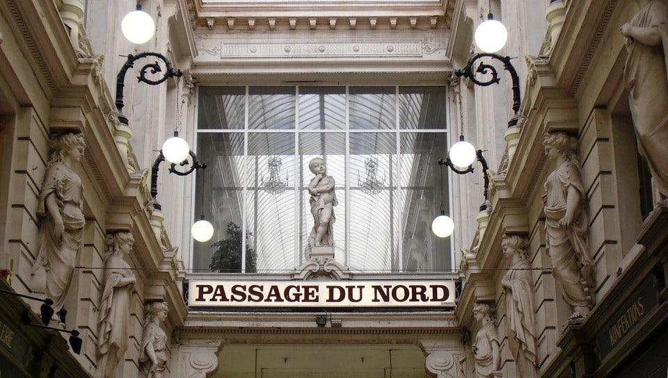 Entrance of Passage du Nord