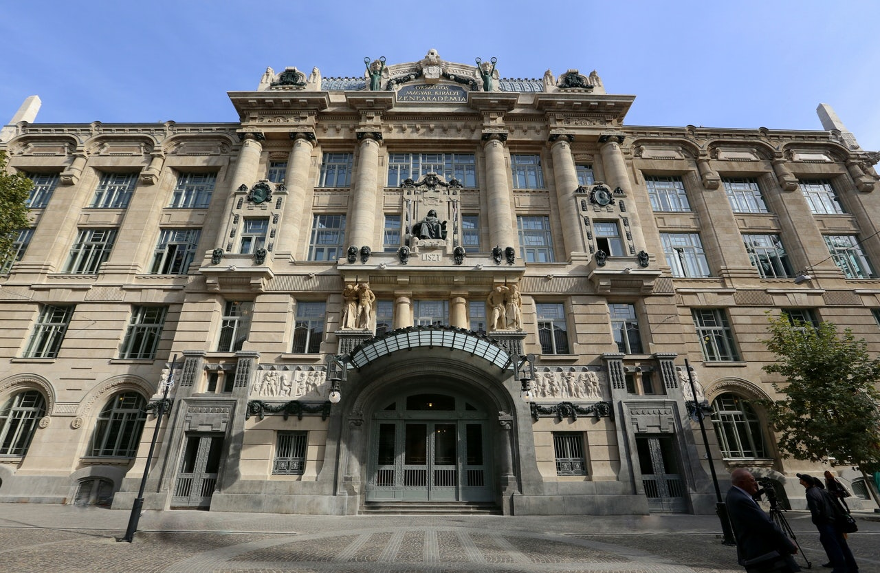 art nouveau style Music Academy