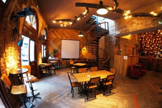 interior of Fogas bar