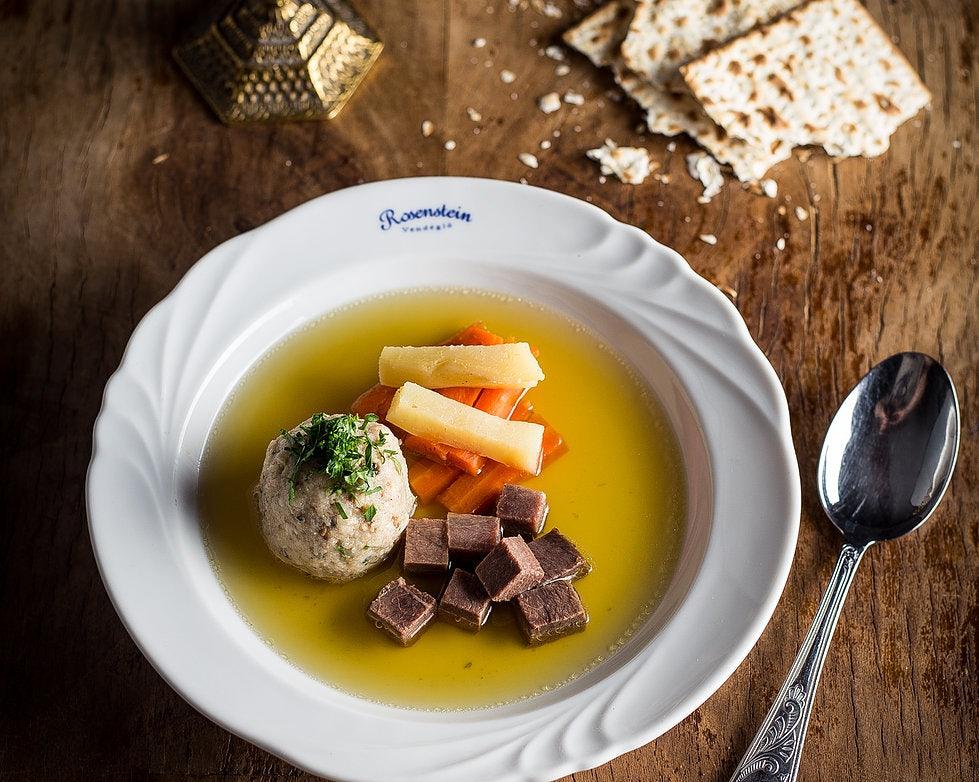 Jewish dish from Rosenstein Restaurant