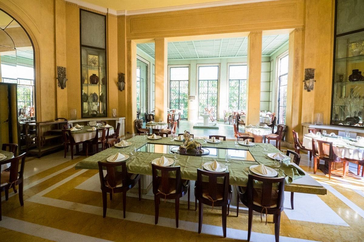 dining room Casa de la Amistad