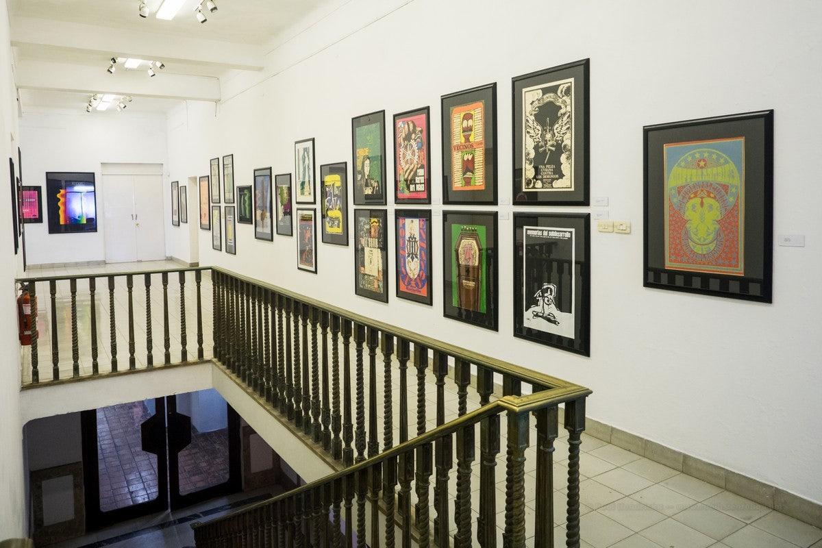 interior of Casa de Las Américas