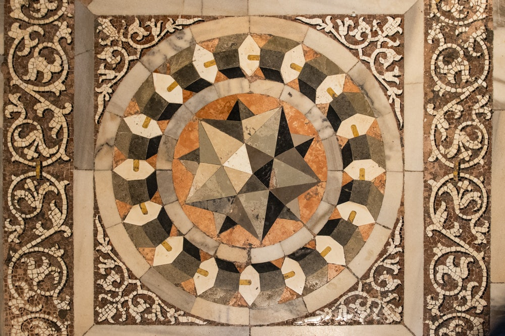 Venice - Mosaic of the dodecahedron