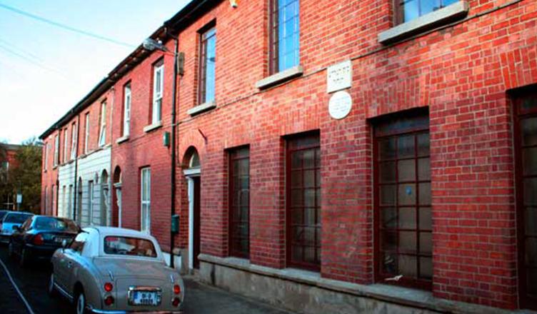 front side Irish Jewish museum
