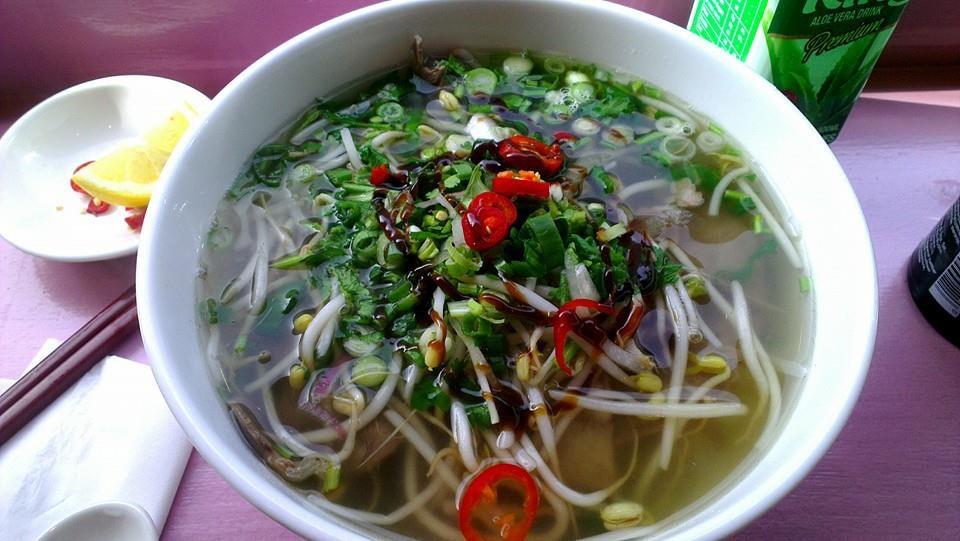 Vietnamese soup Aobaba