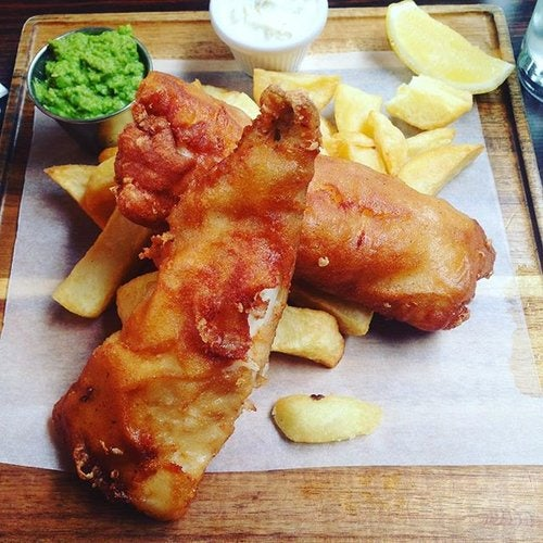 Fish and Chips the Oar House