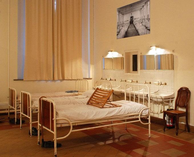 old psychiatric ward of Dr. Guislain museum