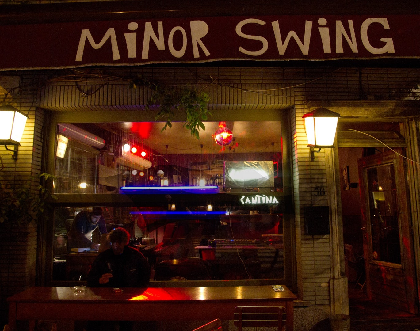 front side of Minor Swing