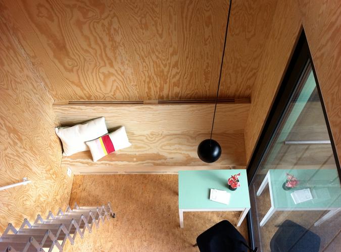 interior of room at Studiomie