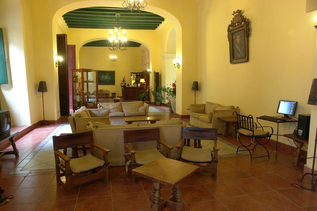 hotel lobby at Conde de Villanueva
