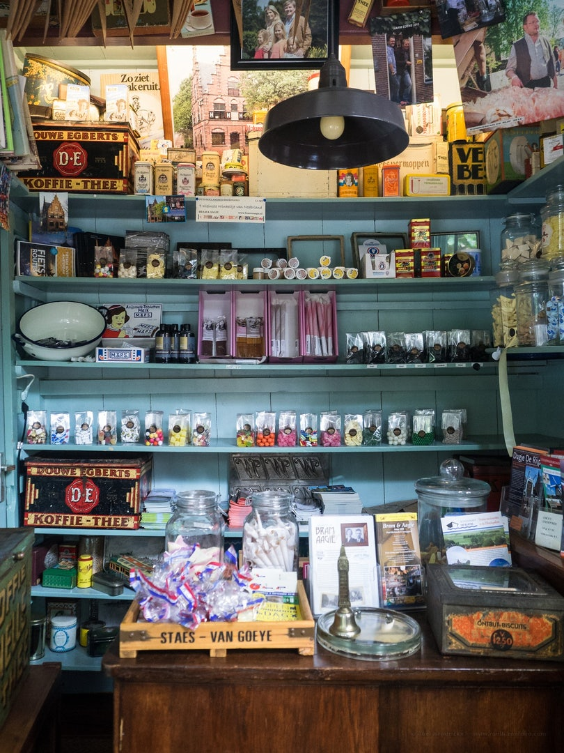 small interior of candy shop Bram & Aagje