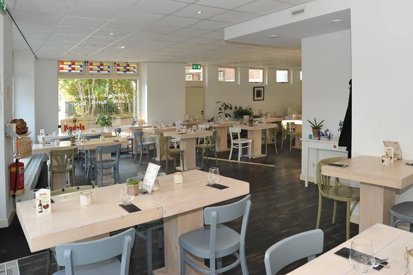 interior of Bij Albrecht restaurant