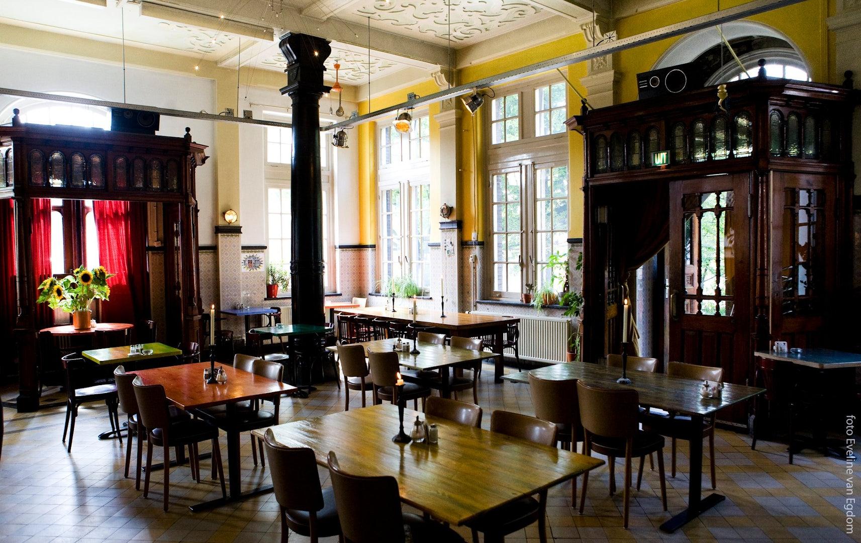 restaurant interior of Hagedis