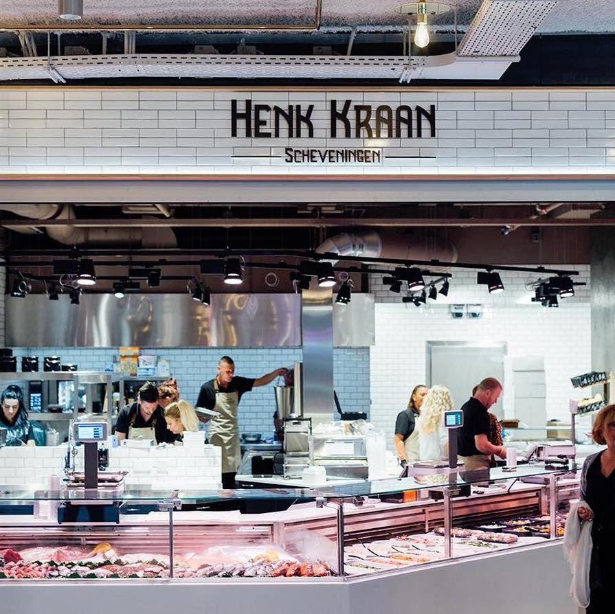 seafood shop Henk Kraan