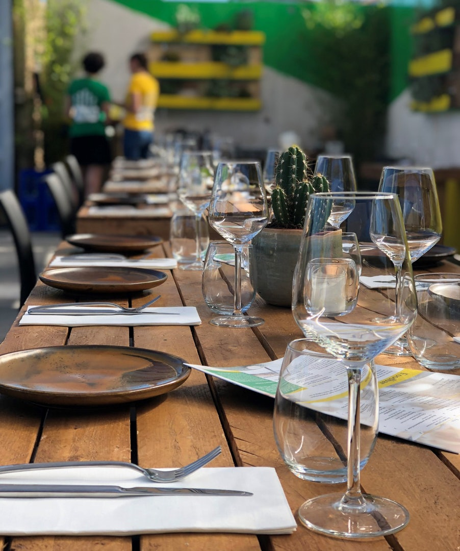 dining table at LOFF