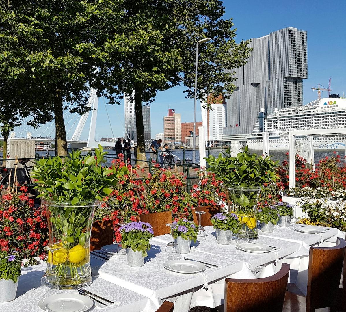 view from restaurant Zenne