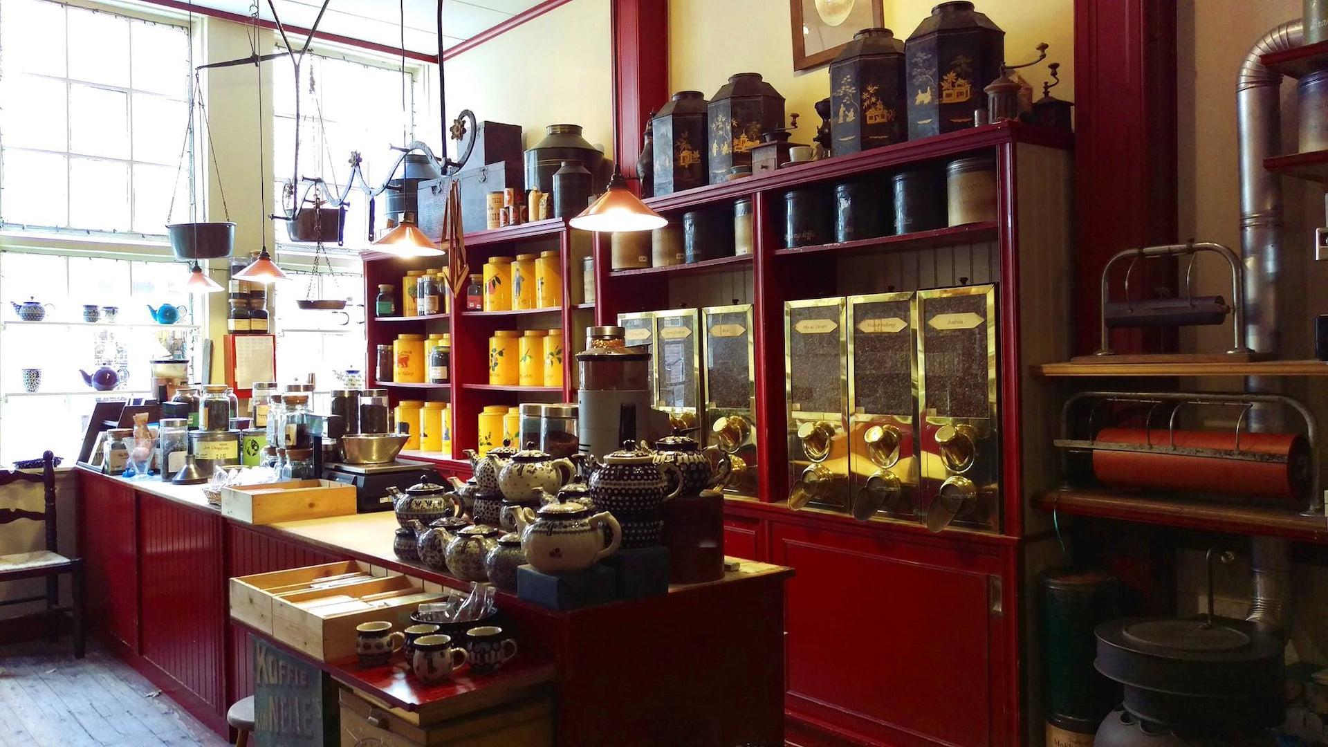coffee and teashop Het Klaverblad