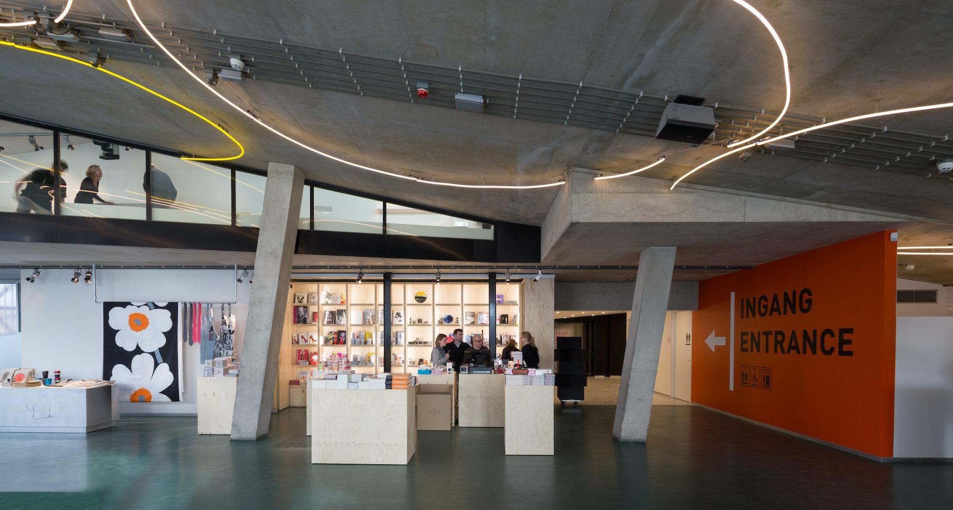 museum shop at De Kunsthal