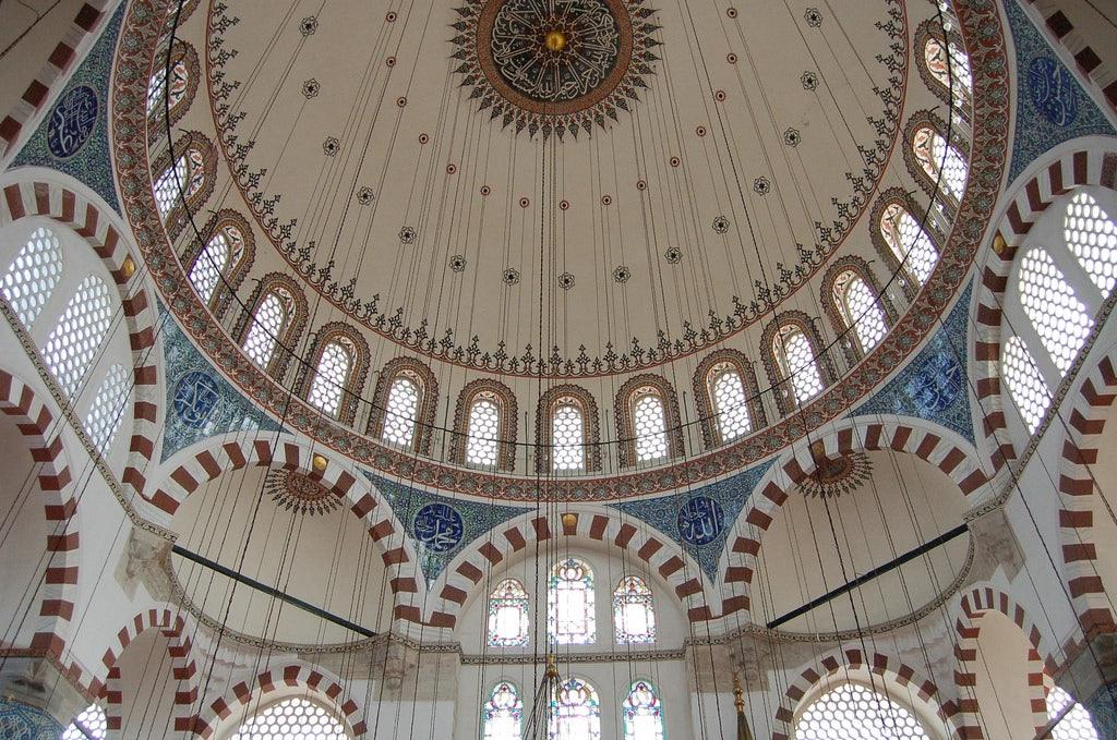 interior of Rüştem Paşa Mosque