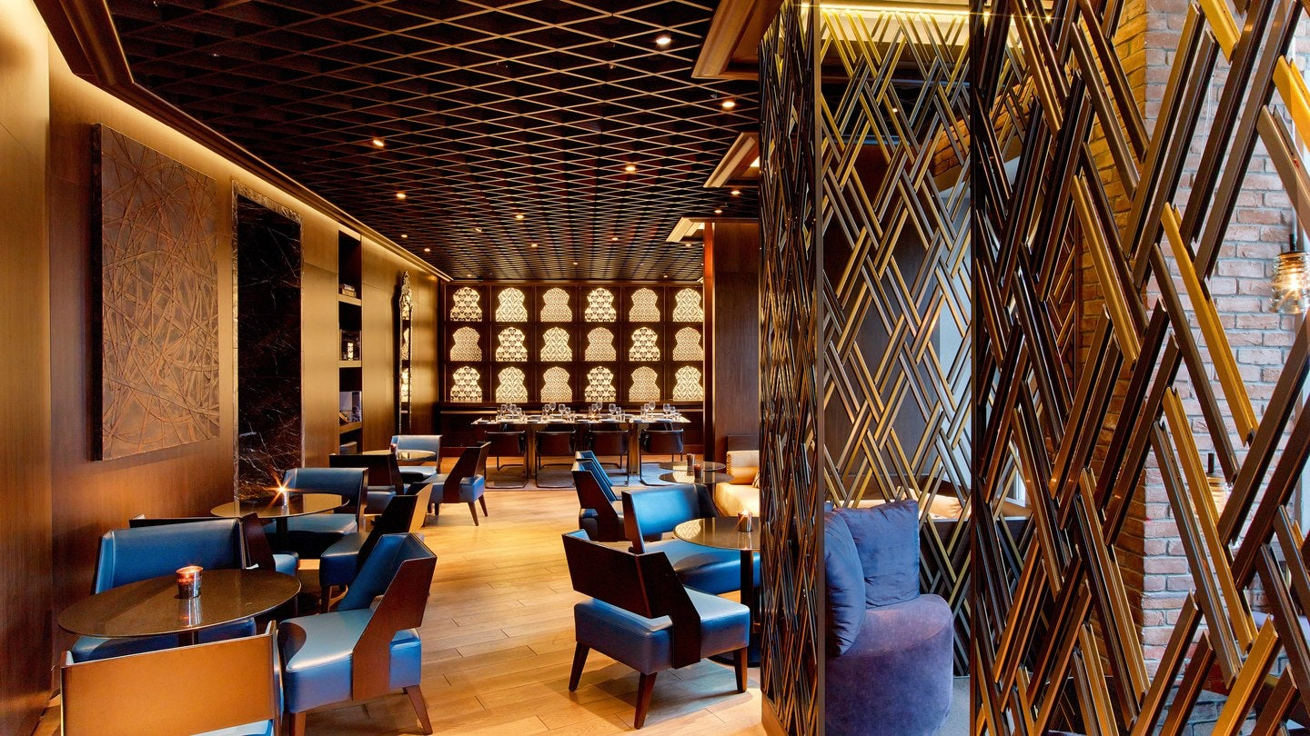 lounge interior at W Istanbul